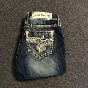 Rock Revival Junia Easy Capri Jeans 26